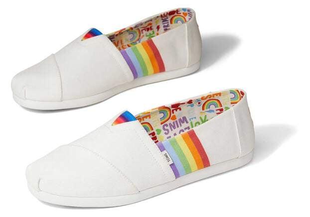 Toms Unity Rainbow Pride Alpargata
