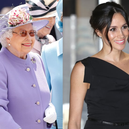 Queen Elizabeth II and Meghan Markle Ride the Royal Train