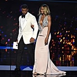 Ciara and Russell Wilson at the ESPYs 2016
