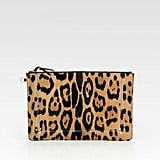Jermone Dreyfuss Popoche Large Leopard-Print Pony Hair Clutch ($480)