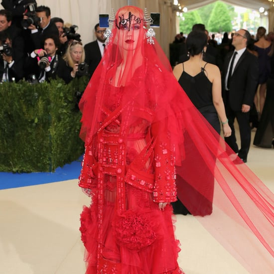 What Does Katy Perry's Veil Say Met Gala 2017