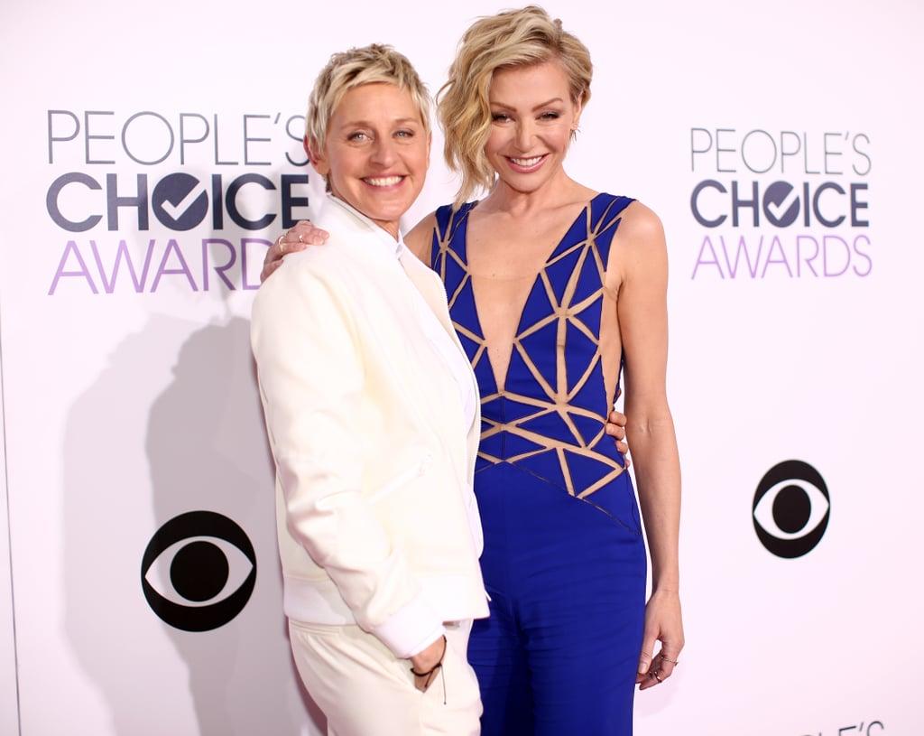 Ellen degeneres and portia de rossi celebrity power for Ellen degeneres and portia de rossi story