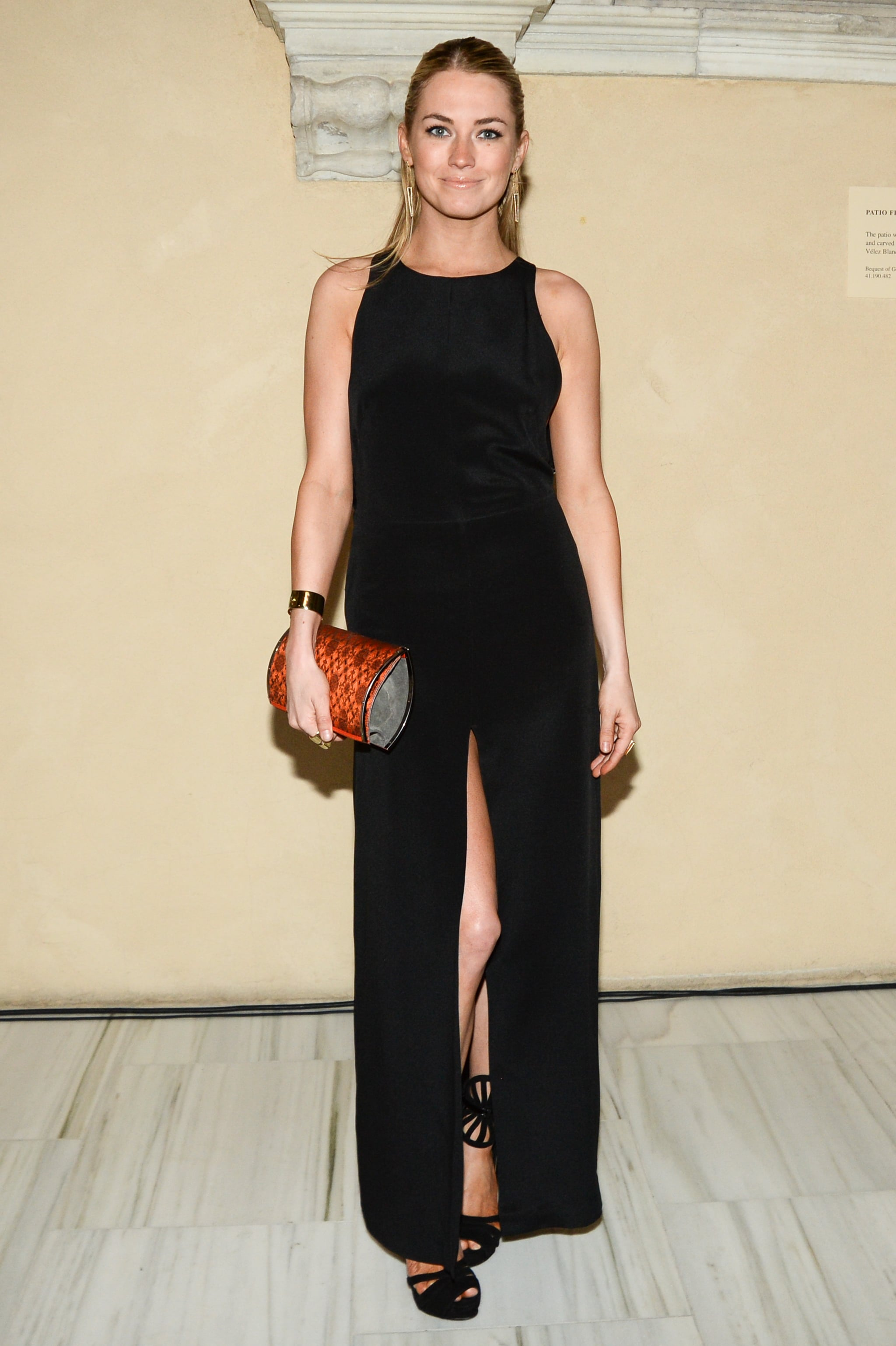 Amanda Hearst at Maiyet's Champagne Toast for The Metropolitan Museum of Art's Apollo Circle Benefit.