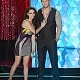 Kristen Stewart and Chris Hemsworth