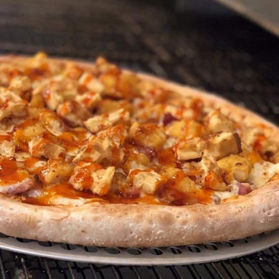 Papa John's Hot Honey Chicken & Waffles Pizza