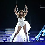 Jennifer Lopez also performed on the American Idol finale.