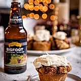 Beer Bread Cinnamon Roll Muffins