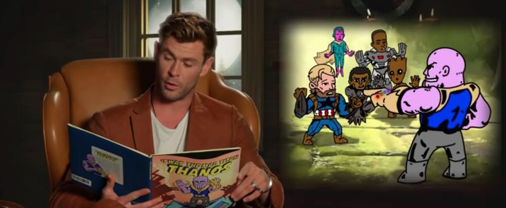 Avengers Endgame Cast Read Kids Book on Jimmy Kimmel Video