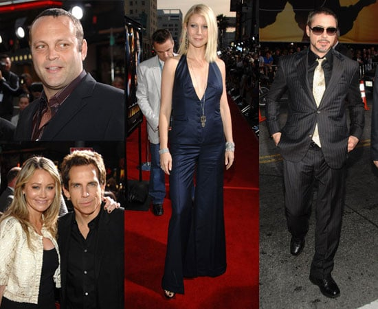 Iron Man's Business Is Very Hot at LA Premiere