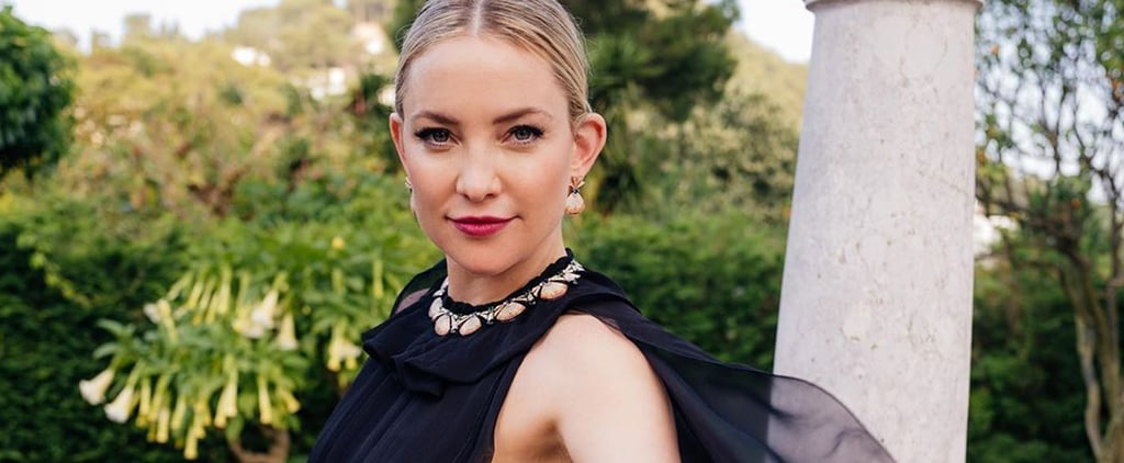 Kate Hudson Wears Valentino Dress in Italy