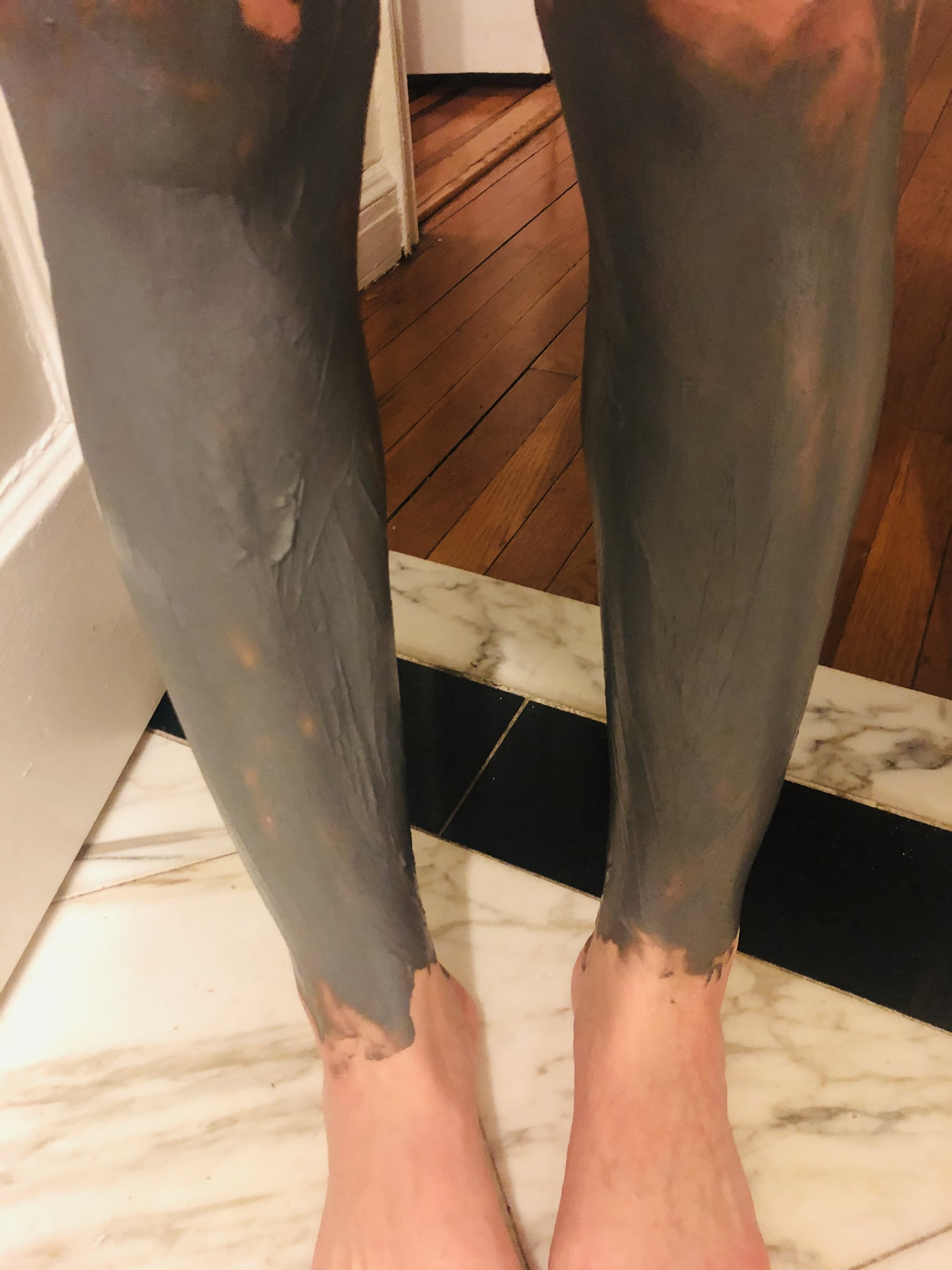 Nair Leg Mask Review Popsugar Beauty