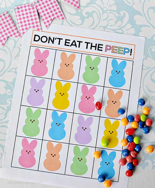 Don't Eat the Peep Game
