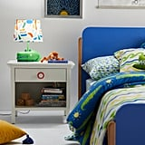 Drew Barrymore Flower Kids White Single Drawer Nightstand