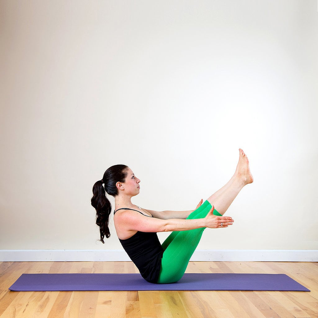 Boat Pose The Ultimate Beginner Friendly Yoga Sequence Popsugar Fitness Photo 9