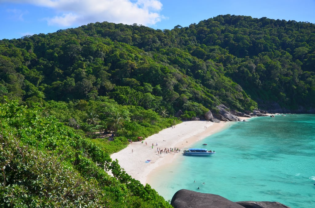 The Similan Islands, Thailand