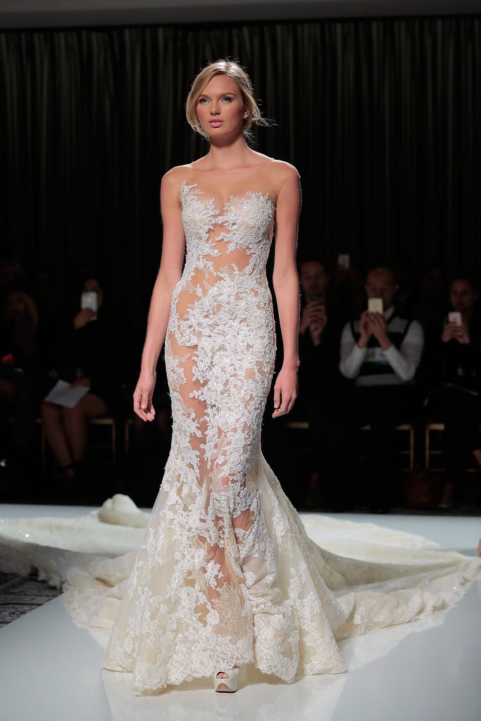 150 wedding dresses from bridal fashion week winter 2016 for Winter style wedding dresses