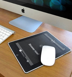 What are mouse pads made of Sichargentina Youve Seen One Mouse Pad Youve Seen Them All Right Not So Fast There Are Mouse Pads That Help You Stay On Track Mouse Pads That Are Made Of Popsugar Imousepad Ipad Mouse Pad Popsugar Tech