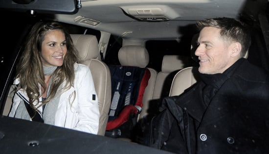 Elle MacPherson and Bryan Adams Spotted Together in London