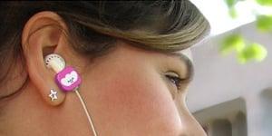 Emotibud Earbud Set - Cutest Headphones Ever