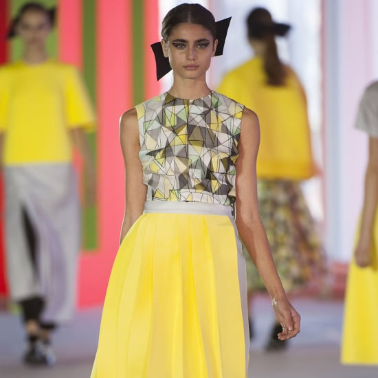 2014 Spring London Fashion Week Runway Roksanda Ilincic