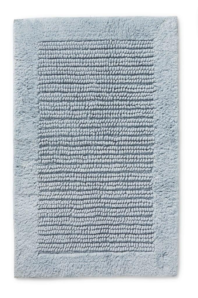 Textured Cotton Bath Mat, $14.99