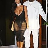 Kim Kardashian at Kanye West's Miami Concert 2016 | Pictures