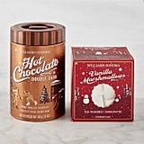 Double Dark Hot Chocolate and Vanilla Marshmallow Set
