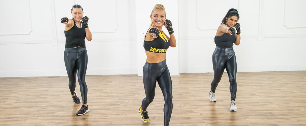 40-Minute Cardio Boxing and Kickboxing Workout