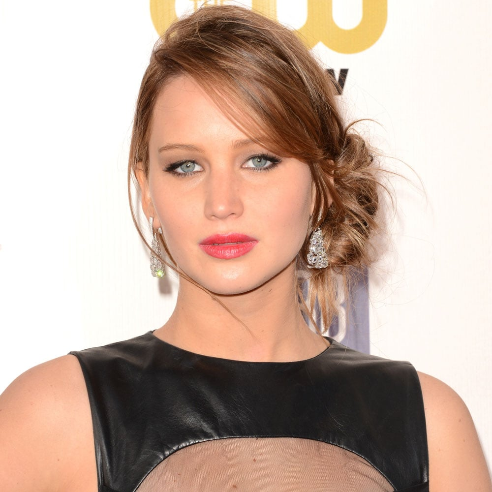 Pictures of Jennifer Lawrence at the Critics Choice Awards