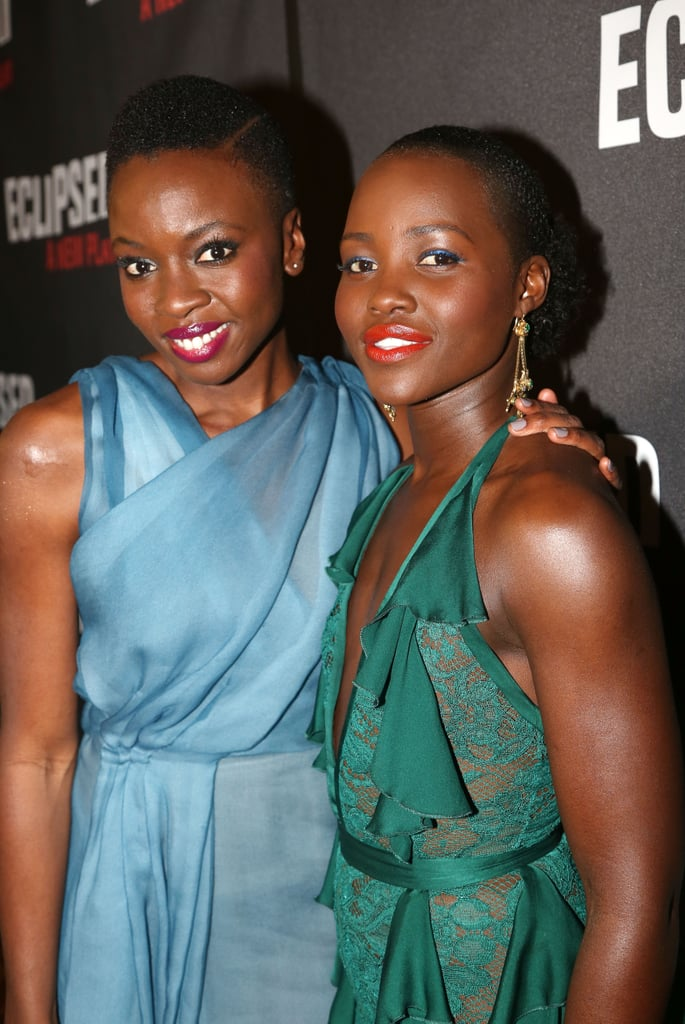 "Lupita Nyong'o and Danai Gurira are the stars of Marvel's upcoming Black Panther movie, but their friendship didn't begin on set. The two actresses first met back in 2007 when Danai was sent to ""woo"" Lupita from Yale on behalf of Tisch School of the Arts. ""But we knew we were in trouble, and Yale won,"" Danai told Entertainment Weekly in 2016.  After their initial encounter, Lupita reached out to star in Eclipsed, a historical play written by Danai — which went on to score six Tony award nominations — and they've been inseparable ever since. Both women have referred to their close friendship as a ""sisterhood,"" and it's clear to see why from looking at their joyous moments over the years."