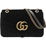 Gucci GG Marmont Velvet Chain Shoulder Bag