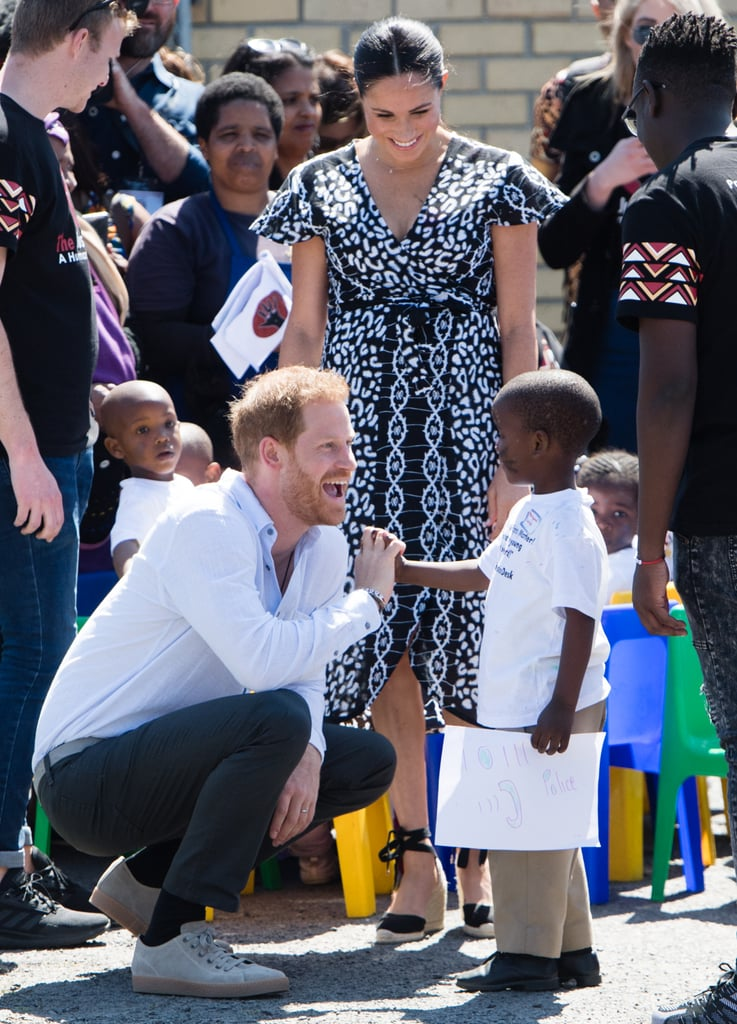 When He Seemed Genuinely Excited to Meet This Little Boy During His Southern Africa Tour