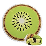 Genovega Thick Round Beach Towel Blanket