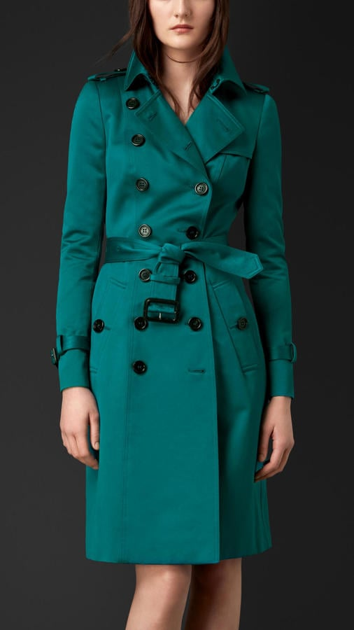 Burberry Prorsum Cotton Sateen Trench Coat ($2,295)