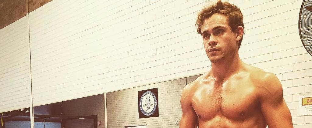 Dacre Montgomery Shirtless Photos and GIFs