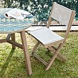 Portside Outdoor Folding Textilene Bistro Chair