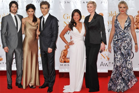 Pictures of Nina Dobrev, Paul Wesley, Ian Somerhalder, Busy Philipps, and Jane Lynch in Monaco