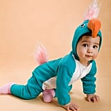 Turquoise Parrot Baby Costume