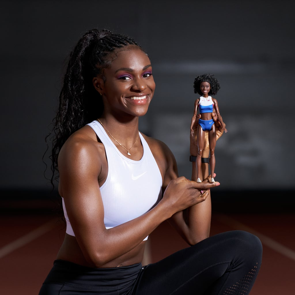 Sprinter Dina Asher-Smith Has Been Turned Into a Barbie Doll