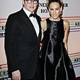 Sarah Jessica Parker and Matthew Broderick were side by side at the Kennedy Center Honors.