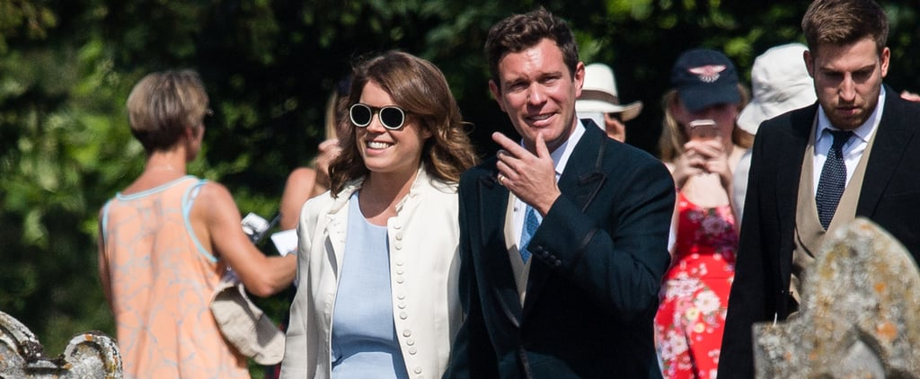 Princess Eugenie's Mr. Boho Sunglasses Daisy Jenks's Wedding