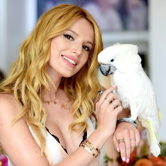 Bella Thorne Funny Bird Pictures