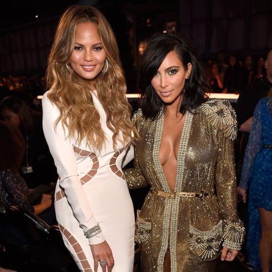 Kim Kardashian and Chrissy Teigen Tweets About Kanye West