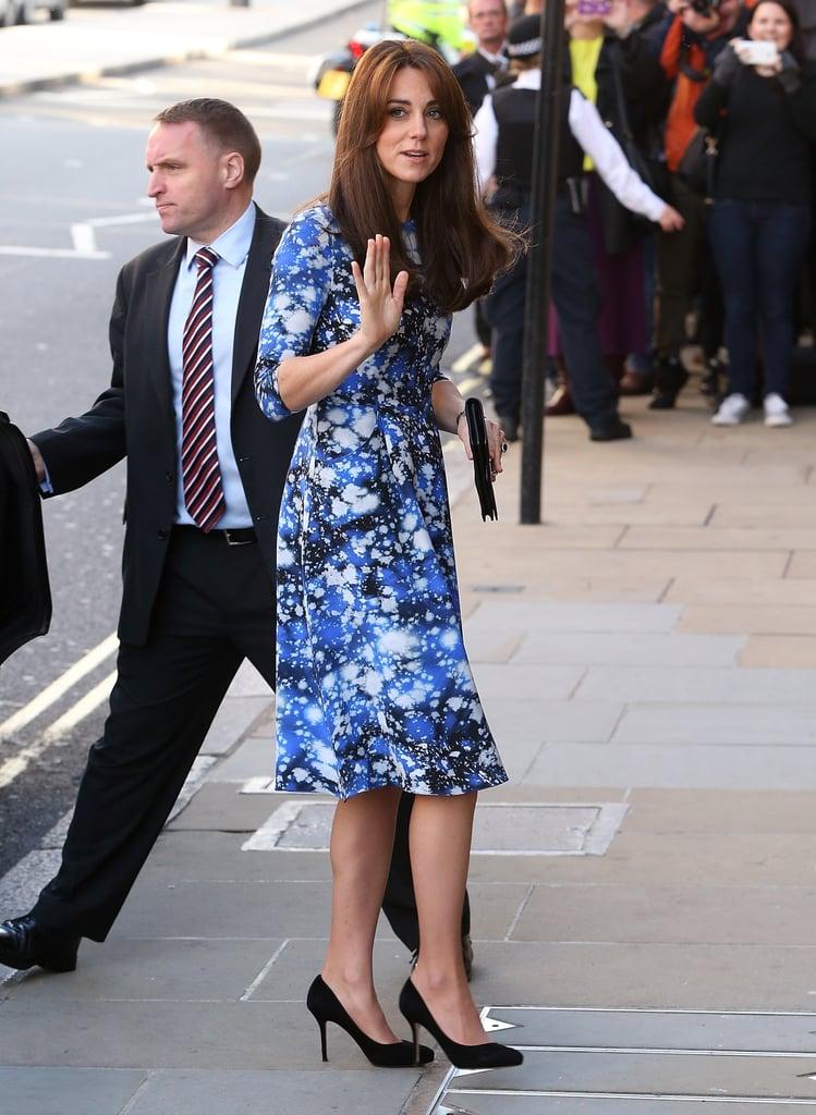 Kate Middleton's Space-Print Dress