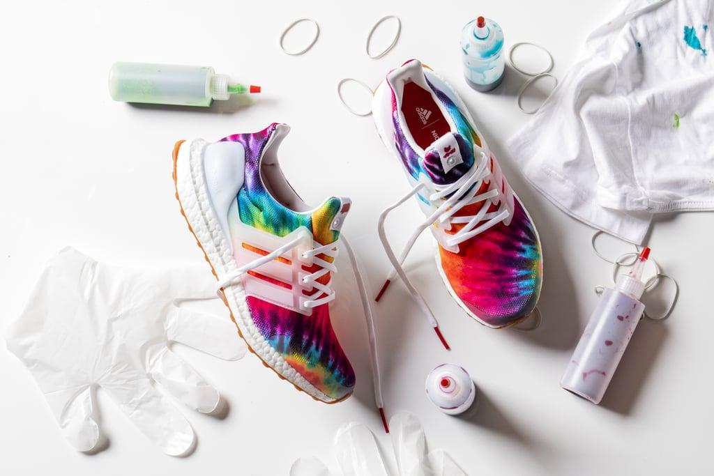 Adidas' tie dye Ultraboost sneakers inspired by Woodstock
