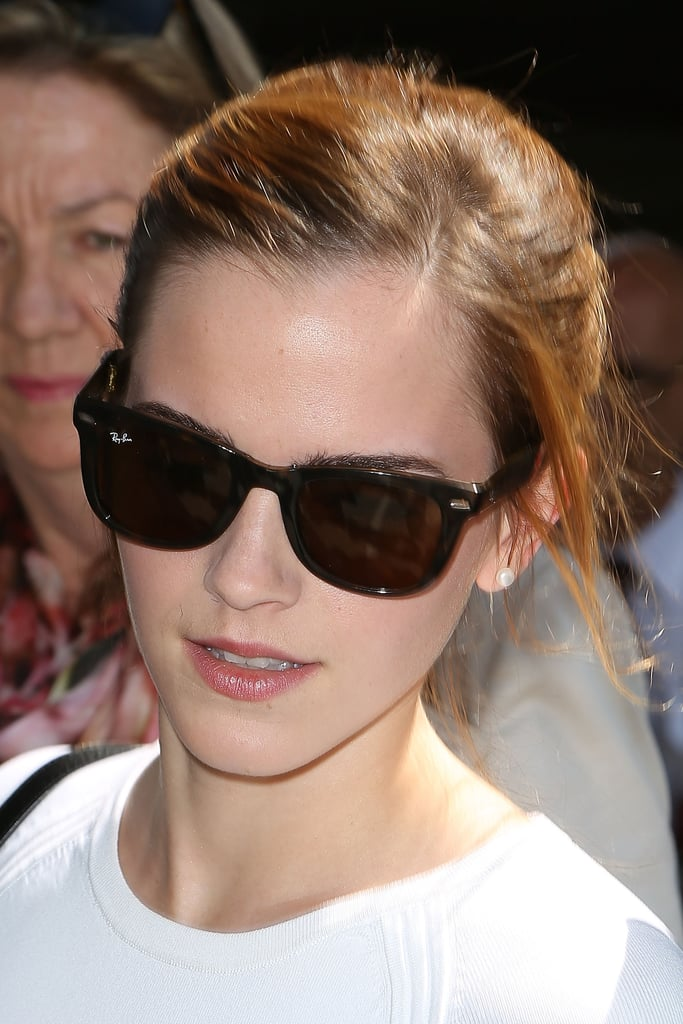 Emma Watson Arrives in France to Get the Cannes Party Started