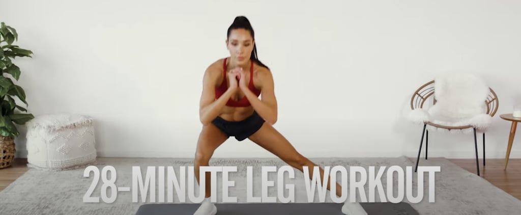 4-Week No-Equipment Workout Plan Weeks 1 & 3: Legs