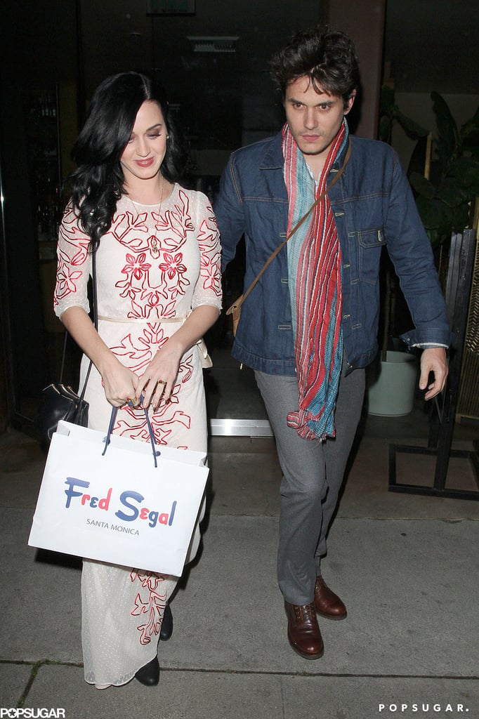 Katy Perry and John Mayer Have a Sweet Valentine's Date