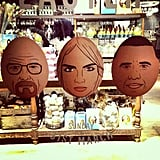 "Who you calling an ""egg head""? Source: Instagram user caradelevingne"