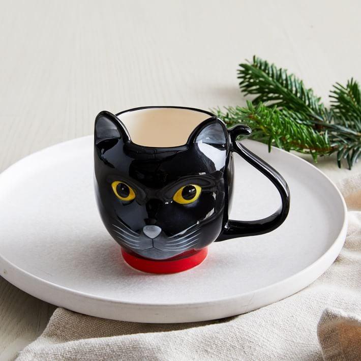 West Elm Cat Mug